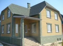 Turnkey construction of dachas, cottages
