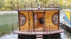 Строительство домов на воде по Украине и на