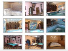 Сауна гостиницы Бизнес-Клуб 21 Нирвана, Сауна в гостинице