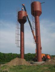 Изготовление и монтаж водонапорных вышек