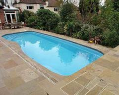 Services in construction of swimming pools