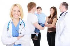 Медицинское страхование (полный пакет для семьи от