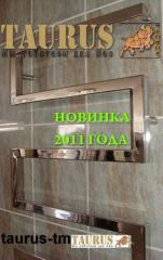 Production of heated towel rails from stainless