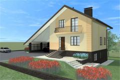Проектирование жилых домов, коттеджей и гостиниц