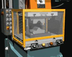 Works gear-cutting a gear wheel, Gear-cutting