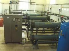 Монтаж электролизных установок  в Киеве цена