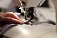 Tailoring of textile products under the order,