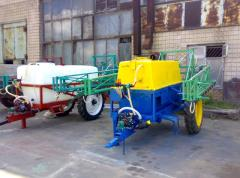 Capital repairs of sprayers of all modifications
