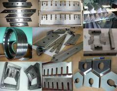 Production of spare parts for light industry
