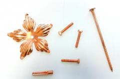 Меднение, Покрытие металлических деталей медью