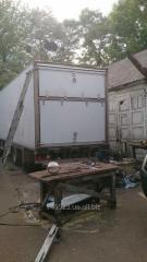 Repair of isothermal vans