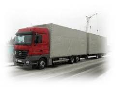 Автоперевозки грузов, Автоперевозки грузов международные
