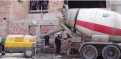 Услуги бетоносмесителя и бетононасоса