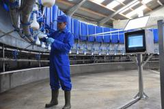 Installation and service of the milking equipmen