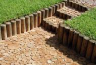 Дорожки из деревянной брусчатки Днепропетровск