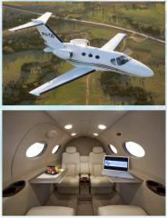 Аренда частного самолета Citation Mustang