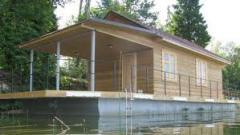 Постройка плавдач, строительство домов на воде