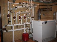 Монтаж систем отопления в Украине