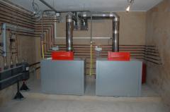 Системы водоснабжение и отопления частного дома в Украине.