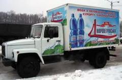 Branding of transport, in Kiev (Kiev, Ukraine) the