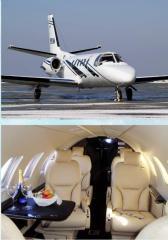 Аренда Самолета. Заказать самолёт Cessna Citation Bravo