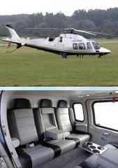 Sale of helicopters. Lease of the Augusta 109