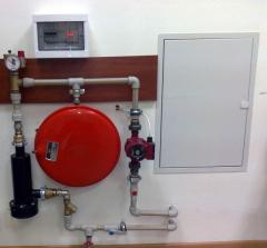 Installation of systems of electroheating