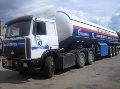 Доставка сжиженного углеводородного газа (СУГ), различным потребителям, как в странах Евросоюза, так и в Украине (автомобильные цистерны).