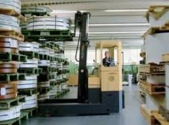 Transportation of the trade equipment, office