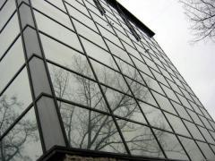 Монтаж алюминиевых светопрозрачных конструкци