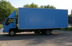 Изготовление фургонов грузовых автомобилей...