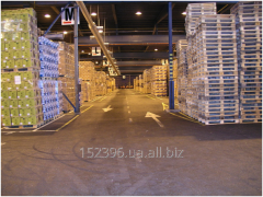 Warehousing services, a warehouse in Lviv, the
