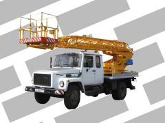 Услуги автогидроподъемника 18 - 22 метра. Киев