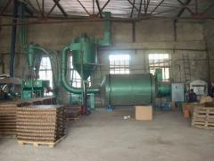 We install the equipment for production of