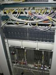 Установка и монтаж телекоммуникационного оборудования