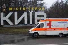 To transport the patient from Kiev to