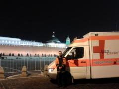 To transport the patient from Kiev to Moscow,