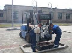 Установка, ремонт, обслуживание топливо-раздаточных колонок