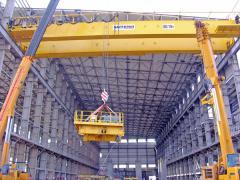Installation, repair, bridge cranes