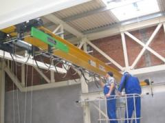Commissioning, installation/dismantle of cranes