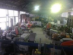 Service of construction equipmen