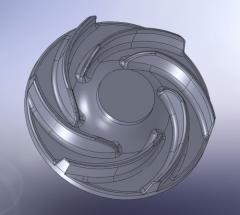 Mathematical model of a detail from any ZD CAD of