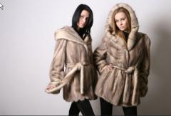 Sale of ready fur coats