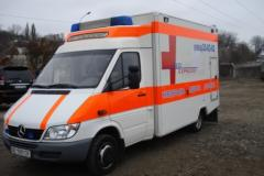 To transport the patient from St. Petersburg to