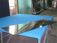 Прирезка и обработка - стекло, узорчатое стекло и
