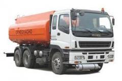 Грузоперевозки жидких грузов изотерма