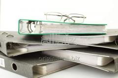 Accounting. Accounting and tax accounting.