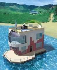 Строительство жилых домов на воде