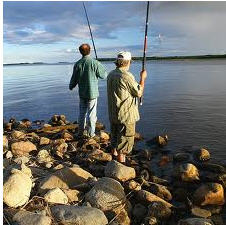 Rounds on fishing. Kiev region, Kruglik