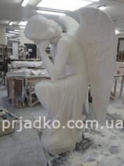 Installation of sculpture Kiev